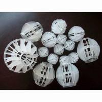 聚丙烯PP多面空心球 50㎜加厚空心球 耐酸耐碱除尘专用球