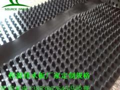 供应无锡3公分卷材pe排水板/20高屋顶绿化蓄排水板